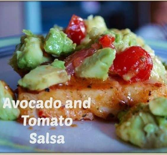 Avacodo and Tomato Salsa
